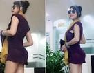 """Phi Thanh Vân tự tin với """"vòng ba siêu khủng"""" như Kim Kardashian"""