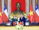 Chủ tịch nước Trần Đại Quang và Tổng thống Chile chủ trì họp báo chung