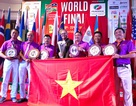 Đội tuyển golf Việt Nam vô địch thế giới tại giải WAGC 2017