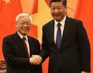 Tổng Bí thư gửi điện cảm ơn sau chuyến thăm Trung Quốc