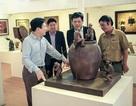 Trưng bày 80 tác phẩm trong nhà vườn rộng 1000m2 của NSND Vương Duy Biên