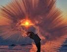 Những khoảnh khắc kỳ diệu chỉ có thể chiêm ngưỡng khi trời đông rét buốt