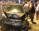 Hà Nội: Ô tô đâm liên tiếp nhiều phương tiện, tài xế nghi say rượu