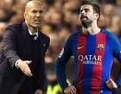 """Pique """"đá đểu"""" Real Madrid, Zidane lên tiếng phản pháo"""