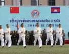 Campuchia tập trận quân sự với Trung Quốc