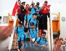 Những hình ảnh đầu tiên của các cầu thủ U23 Việt Nam tại Nội Bài