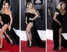 """Váy xẻ cao """"bất tận"""" của Rita Ora trên thảm đỏ Grammy 2018"""