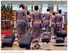Tiếp viên hàng không bị bắt vì tội buôn lậu vàng