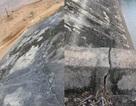 Hồ chứa nước hơn 50 tỷ đồng chưa bàn giao đã hư hỏng