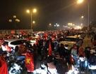 Người dân Vinh đội mưa rét dự lễ vinh danh cầu thủ U23