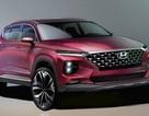 Hình ảnh rõ nét hơn về Hyundai Santa Fe thế hệ mới