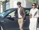 Vợ chồng Beckham đi thăm vườn nho