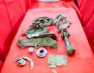 Di vật tìm thấy cùng hài cốt hai phi công MIG-21 gặp nạn ở Tam Đảo