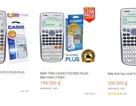 Cảnh giác với máy tính Casio giá rẻ
