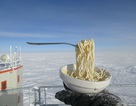 Những điều đặc biệt xảy ra khi nấu ăn ngoài trời ở Nam Cực dưới thời tiết -70 độ C
