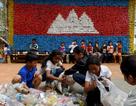 Ngôi trường Campuchia nhận học phí bằng rác
