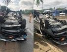 Phó Giám đốc Sở TN-MT tông xe lật ngửa, vợ tử vong