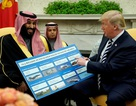 Ông Trump khó xử vì hợp đồng vũ khí trăm tỷ USD với Ả rập Xê út
