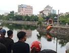 Thi thể người đàn ông nổi trên mặt hồ ở trung tâm Thành phố Thanh Hóa
