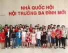 Chuyến tham quan tòa nhà Quốc hội Việt Nam cơ hội trải nghiệm quý giá cho trẻ nhỏ