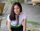 Thiếu nữ xinh đẹp mặc đồ dân tộc Thái ở Mù Cang Chải được tìm kiếm rần rần