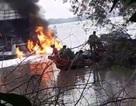Tàu chở xăng dầu bốc cháy dữ dội, một người tử vong