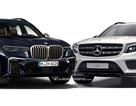 BMW X7 và Mercedes-Benz GLS - Cuộc chiến chưa cân sức