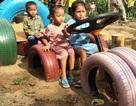 Thú vị mô hình tạo đồ chơi cho trẻ em ở huyện nghèo biên giới
