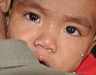 Xót lòng nhìn bé 2 tuổi khóc vật vã vì bị thận hư kháng thuốc