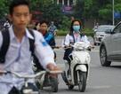 Hà Nội: Tái diễn tình trạng học sinh vô tư đi xe máy đến trường