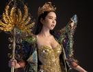 Huỳnh Vy khoe trang phục truyền thống ấn tượng trong cuộc thi Miss Tourism Queen Worldwide 2018