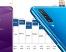 Samsung, Oppo thay nhau dẫn đầu thị trường smartphone Việt Nam