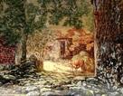 """""""Quê ngoại"""" của Lưu Hoàng- tác phẩm tiêu biểu của trào lưu sơn mài hiện thực"""
