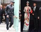 David Beckham năng động ra phố sau khi dự ra mắt xe VinFast