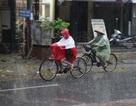 Ảnh hưởng không khí lạnh, miền Trung có nơi mưa rất to