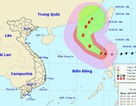 Hình thành bão số 7 trên Biển Đông