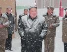 Ông Kim Jong-un đội tuyết thị sát nhà máy sau 2 tuần vắng bóng