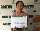 Hơn 78 triệu đồng đến với chị Lan có 2 con bại não