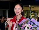 Hoa hậu Hoàn vũ Riyo Mori rạng rỡ khi trở lại TPHCM