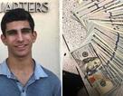 Nhặt được ví tiền gần 233 triệu đồng, cậu học sinh đem nộp cảnh sát