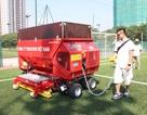 Tháng 10 này, Việt Nam đã về 2 dòng máy thi công và bảo dưỡng cỏ nhân tạo hiện đại hàng đầu Châu Âu