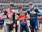 Đánh bại ở Dovizioso ở góc cua cuối cùng, Marquez là tay đua đầu tiên chiến thắng tại ThailandGP