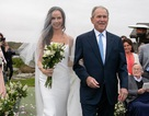 Cựu Tổng thống Bush hạnh phúc trong đám cưới của con gái