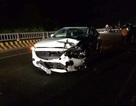Hà Nội: Ô tô Mazda đấu đầu xe máy, 1 người tử vong