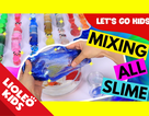 Tiếng Anh trẻ em: Học về màu sắc qua slime ma quái