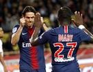 Cavani lập hat-trick, PSG thắng hủy diệt Monaco của Henry