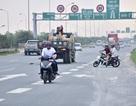 Tăng cường xử lý người điều khiển xe máy đi vào Đại lộ Thăng Long