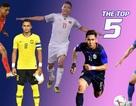 Bất ngờ với ngôi sao Việt Nam được chọn là cầu thủ ấn tượng ở AFF Cup 2018