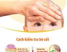Infographics: 'Đọc' triệu chứng sốt ở trẻ để dùng thuốc đúng