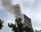 Hà Nội: Cháy công trình cao ốc đang xây, công nhân hoảng hốt bỏ chạy